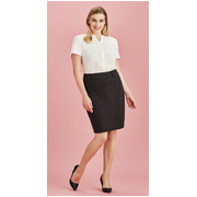 Biz Collection 20640 Rococo Panelled Skirt With Rear Split