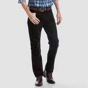 Levis 516 Slim Straight Black Rinse