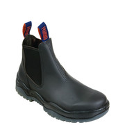 Mongrel Boots 916020 Black Kip Elastic Sided Boot