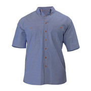 Bisley B71407 Chambray Shirt - Short Sleeve