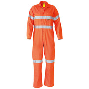 Bisley BC607T8 Hi Vis Coveralls 3m Reflective Tape