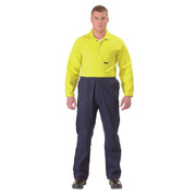 Bisley BC6357 2 Tone Hi Vis Coveralls Regular Weight