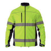 Bisley BJ6059T Soft Shell Jacket With 3m Reflective Tape