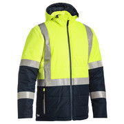 Bisley BJ6929HT Taped Hi Vis Puffer Jacket