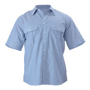 Bisley BS1030 Oxford Shirt - Short Sleeve