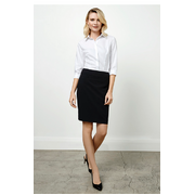 Biz Collection BS128LS Classic Skirt