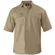 Bisley BS1433 Original Cotton Drill Shirt - Short Sleeve