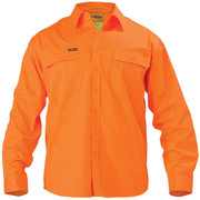 Bisley BS6339 Hi Vis Drill Shirt - Long Sleeve