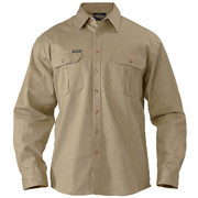 Bisley BS6433 Original Cotton Drill Shirt - Long Sleeve