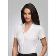 City Collection 2222A Pippa S/S Knit Top