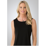City Collection 2292 Smart Sleeveless Knit Top