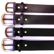 A Class Solid Leather Work Belt