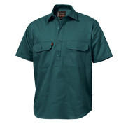 King Gee K04060 Closed Front Drill Shirt S/S