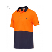 King Gee K54205 Workcool Hyperfreeze Spliced Polo S/S