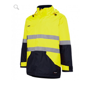 King Gee K55010 Reflective Insulated Wet Weather Jacket
