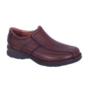 Slatters Lismore Shoe in Saddle
