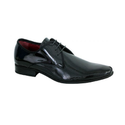 Slatters EASTWOOD Shoe in High Shine Black