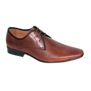 Slatters EASTWOOD Shoe in Dark Tan