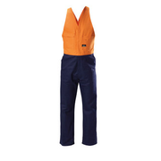 Hard Yakka Y01526 Hi-Visibility Two Tone Cotton Drill Action Back Overall