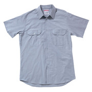 Hard Yakka Y07529 Cotton Chambray Shirt Short Sleeve