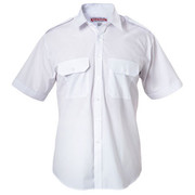 Hard Yakka Y07691 Permanent Press Poly Cotton Shirt with Epaulettes Short Sleeve
