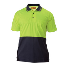 Bisley BK1234 2 Tone Hi Vis Polo Shirt - Short Sleeve
