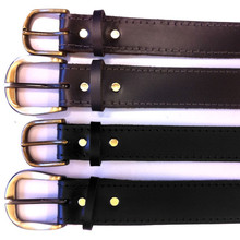 David Martin Solid Leather Work Belt
