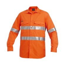 King Gee K54890 Reflective WorkCool II Shirt L/S